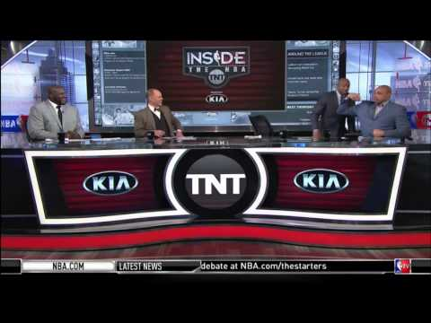 March 03, 2016 - TNT - Dwyane Wade and LeBron James' workout in Miami goes Viral (Inside the NBA)