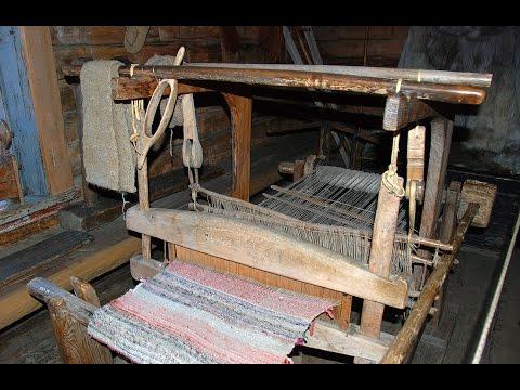 Ткацкий станок старинный своими руками