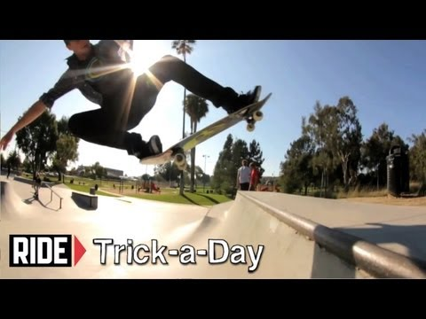 How-To Fakie Tail Bonk with Chad Bartie - Trick-a-Day