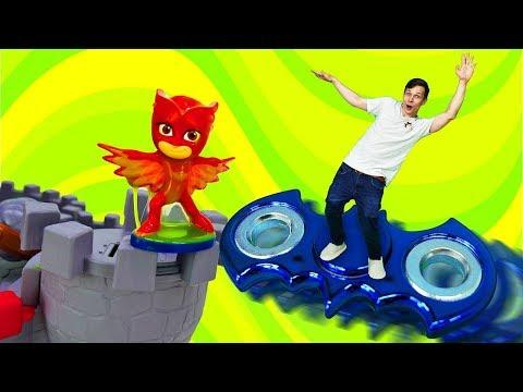 Toy Master летит на спиннере  и спасает Алетт!