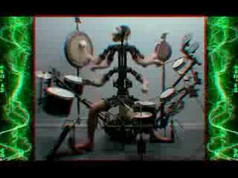 Monkey Drummer - Chris Cunningham + Aphex Twin