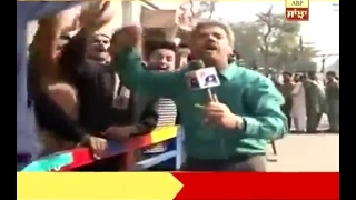 Pakistani journalist Amin Hafeez goes viral on his funny reporting