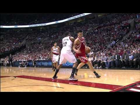 [HD] Yao Ming The Best Playoffs Games vs Blazers Highlights