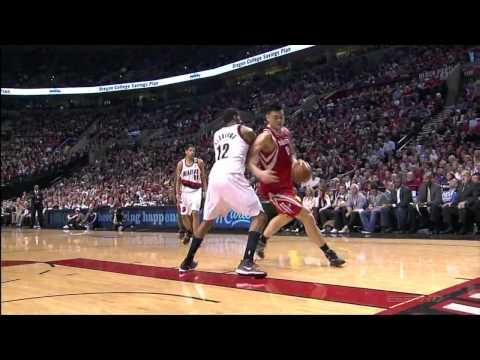 [HD] Yao Ming The Best Playoffs Games vs Blazers Highlights