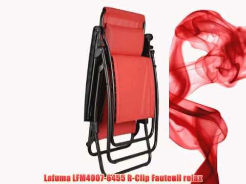 lafuma lfm4007 6455 r clip fauteuil relax