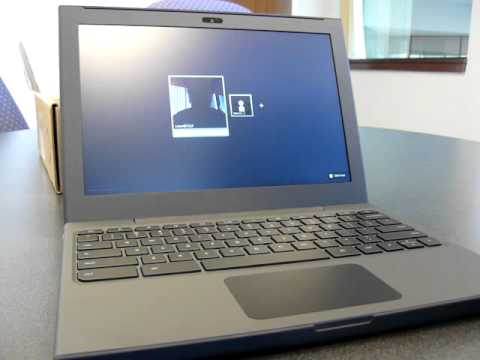 Google Chrome Cr-48 Laptop Video Hands-On