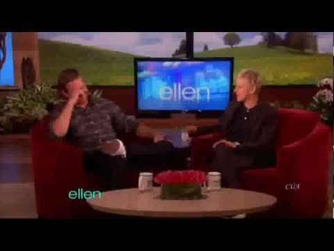 Paul Walker on The Ellen Degeneres Show in 2011
