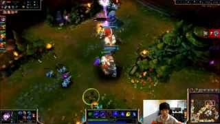League of Legends - Faker with the insane prediction