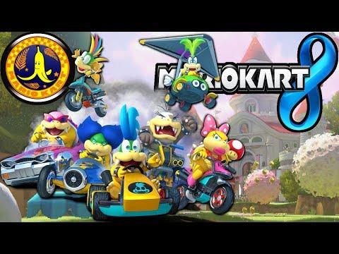 Mario Kart 8: Banana Cup 150cc Koopa Kids & New Character Gameplay Walkthrough PART 6 Wii U HD