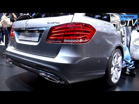 2014 Mercedes E350 CDI AMG T-Model - in Detail (1080p FULL HD)