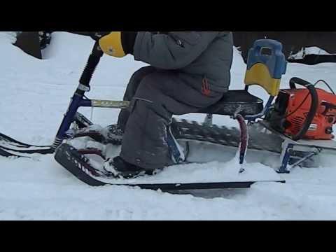 Гусеницы для снегоката своими руками