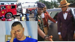 Breaking News: Bishop Obinim's Church On Fìre