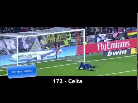 Cristiano ronaldo   All 250 Goals With Real Madrid HD