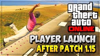 "GTA 5 Glitches Online - GTA V ""Funny Moments"" NEW Player Launch Glitch!! (GTA 5 Online Gameplay)"