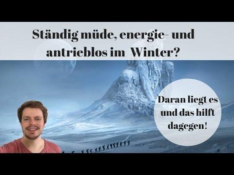 Depression im Winter / Winter- Depression heilen ohne Medikamente