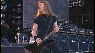 Metallica Enter Sandman Live At Wembley Stadium 1992 Pro Shot