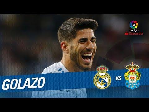 Golazo de Asensio (2-0) Real Madrid vs UD Las Palmas