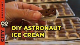 How to make freeze dried ice cream