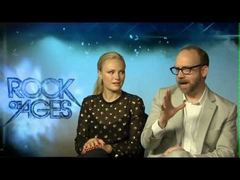 Rock of Ages Interview - Paul Giamatti and Malin Akerman