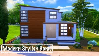The Sims 4 | Modern Stylish Home