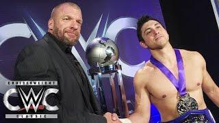 Triple H hat einen Tipp für den WWE Cruiserweight Champion T.J. Perkins: CWC Exclusive, 14. Sep.