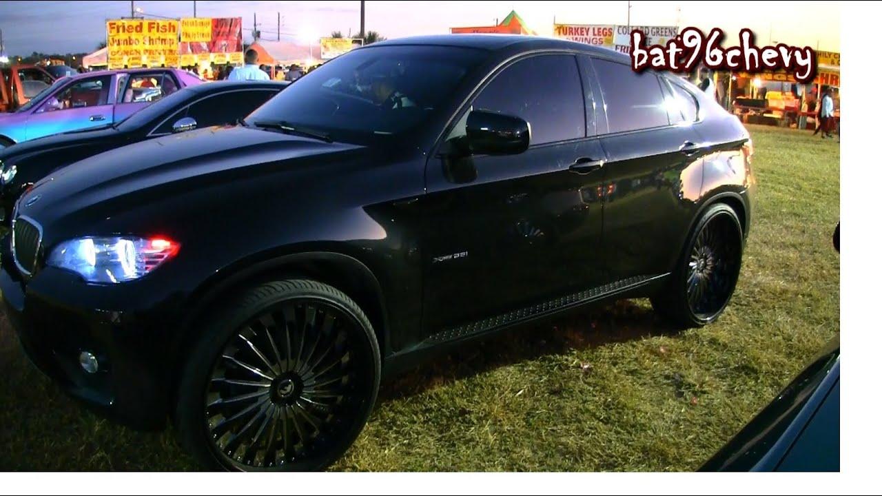 All Black Bmw X6 On 26 Quot Forgiatos 1080p Hd Youtube