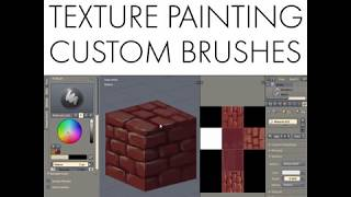 Daily Blender Tip 79 - Texture Painting and Custom Brushes