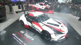Presentation of the new Toyota SUPRA GR Concept Car