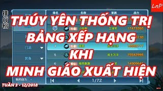 VLTK Mobile - Thúy Yên Thống Trị Bảng Xếp Hạng Trong Phiên Bản Minh Giáo - Tuần 3/12/2018