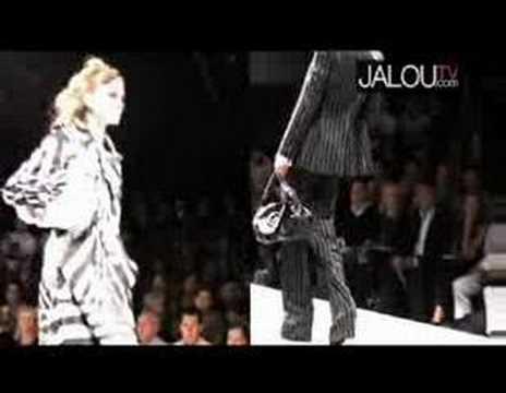 Le défilé Christian Dior Printemps été 2008