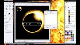 Gimp Tutorial: Heroes Eclipse Logo