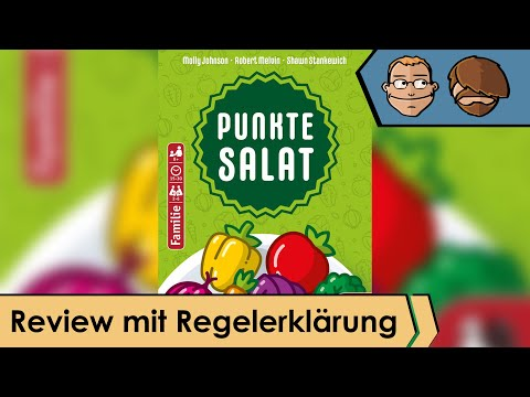 Point Salad - Brettspiel - Review und Regelerklärung