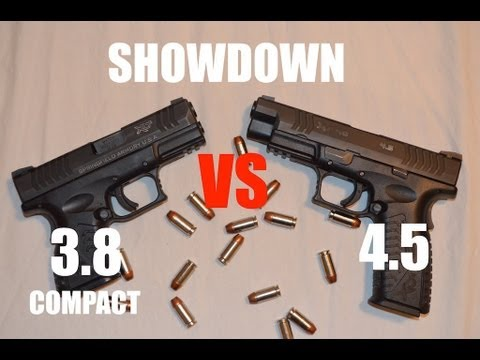 Showdown: XDm 4.5 VS XDm 3.8 Compact