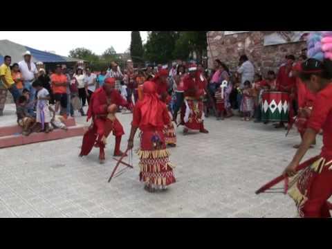Matachines en Cuencame Durango con el Sr. De Mapimy