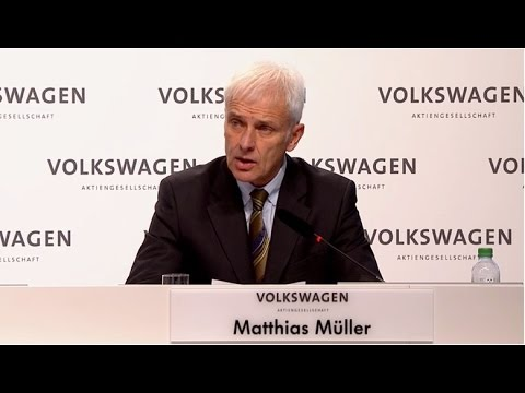 2015 Volkswagen AG Press Conference Matthias Müller Speech - AutoEmotionenTV