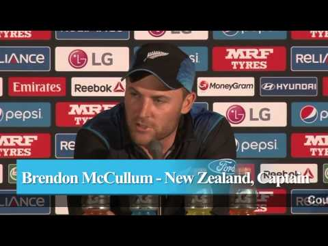 Brendon McCullum reacts on losing 2015 World Cup