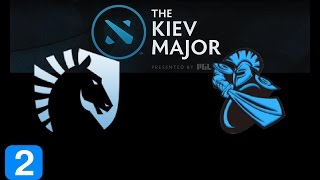 Liquid vs Newbee Game 2  Kiev Major Highlights Dota 2