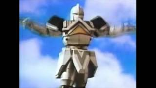 Mighty Morphin Alien Rangers Call The Shogun Megazord