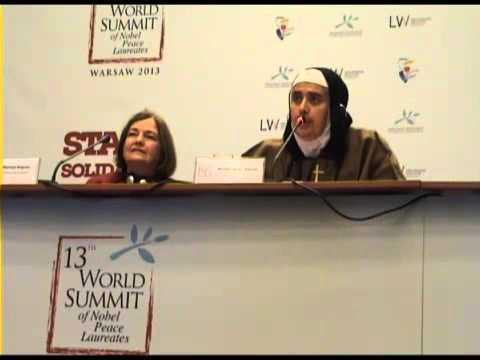 XIII World Summit of Nobel Peace Laureates, FOCUS ON SYRIA