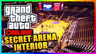 "GTA 5 Online - Secret ""Maze Bank Arena"" Interior Found In Game Files! More Cut Content? (GTA 5)"