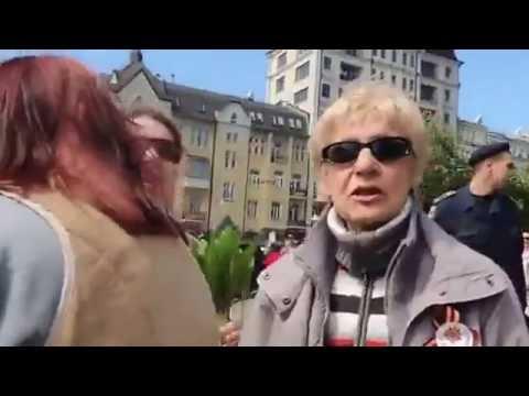 Киев, настоящее мнение, которое СМИ прячет! Опустили провокатора. Как сделать, чтоб быть услышаным?