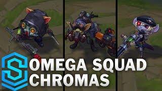 Omega Squad Chromas