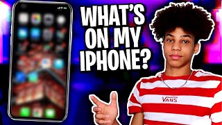 WHAT'S ON MY IPHONE XS MAX!?