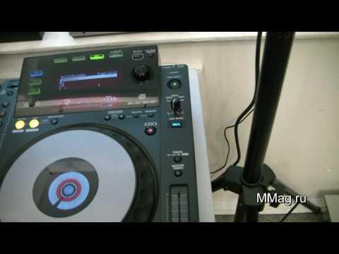 MMag.ru: Pioneer CDJ-900 DJ CD player videoreview.