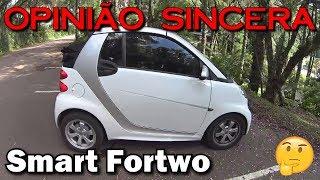 Smart Fortwo - mostrando os detalhes do carro