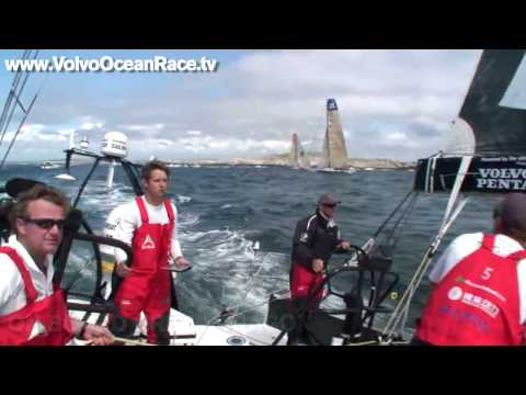 Hitting the Rocks (150609) - VOLVO OCEAN RACE 2008/9