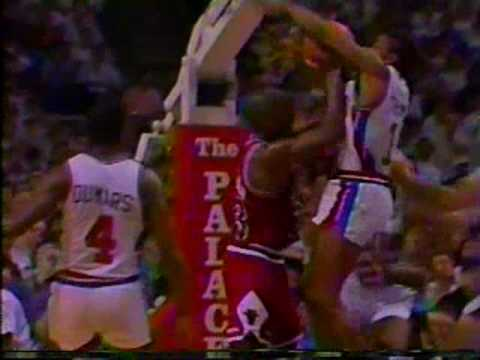 Michael Jordan 1990: 31 pts vs Pistons (Game 7)