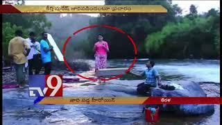 Actress Linda Kumar has a fall during shooting - TV9