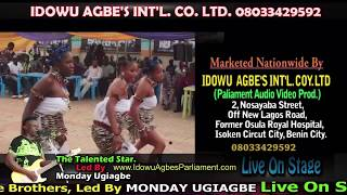 The Talented Star (Monday Ugiagbe) Live On Stage - Edo Music Live On Stage