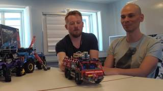Interview with LEGO Technic Designers Milan Reindl &  Samuel Tacchi  on new sommer sets